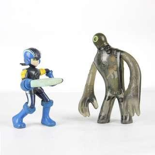 🚚 【GGM】美式老玩具懷舊系列 ROCKMAN x BEN10 電玩洛克人/卡通變形怪可動玩偶公仔