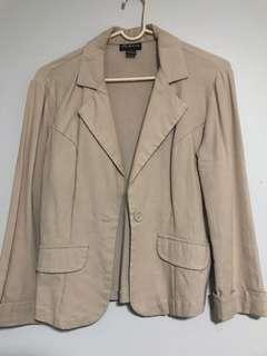 Light beige blazer
