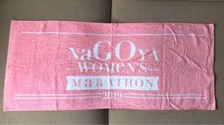 名古屋女子馬拉松2019 完成毛巾Nagoya Marathon 2019