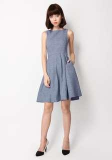 [A for Arcarde] Ambrosia Suit Dress in Blue