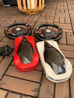 🚚 Twin radio cars
