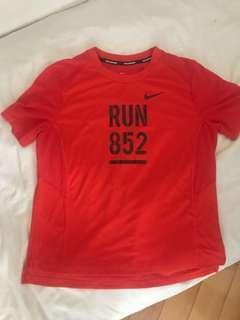Nike Tee women running top(standard chartered marathon hk)