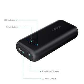 🚚 PB-N41 Pocket 5000mAh AiPower Portable Powerbank