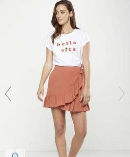 🚚 Ruffles Tie Skirt