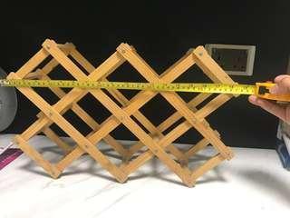 木製酒架 wooden wine rack
