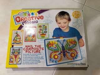 Creative Mosaic Pins/tiles (296pc)