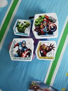 Marvel avengers食物品4個
