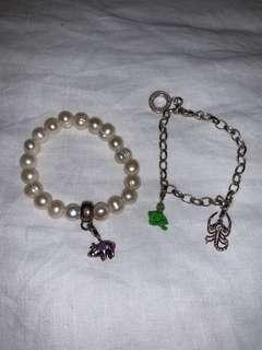 thomas sabo package - 2x bracelets and 3x charms