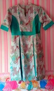 Dress batik kantor