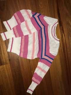 KNIT CROP TOP SIZE SMALL