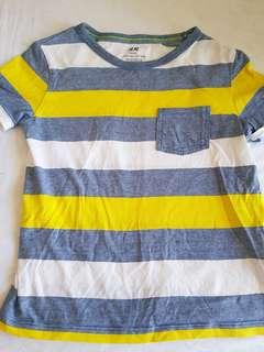 H&M boys striped top