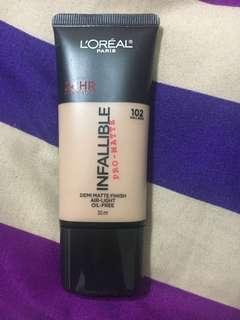 Pre order Loreal Infallible Pro Matte Foundation