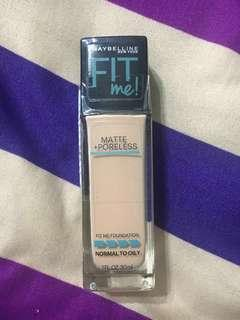 Pre order Maybelline Fit Me Foundation