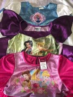 Bundle Disney Princess Pretend Play Dresses