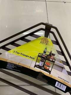 🚚 2 Tier Triangle kitchen condiments rack
