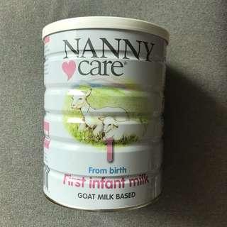 Nanny care 1 號羊奶