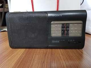 Vintage Sony radio from the 70's