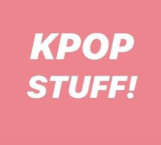 [WTS] KPOP STUFF/CLEARANCE