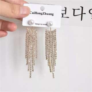 Glittering Party Earing