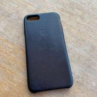 iPhone 7 Leather Case (Navy Blue)