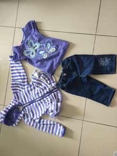 Nannette Girl 3 pieces Set