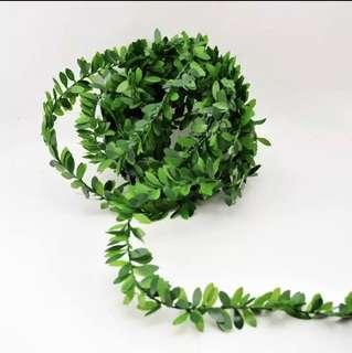 🚚 4 m artificial flowers rattan leaf nylon wire! Accessories and decor!