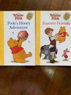 🚚 Winnie the Pooh EaRly Reader books (set of 2)