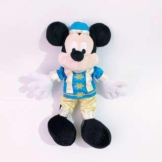 HK Disneyland Mickey Mouse Plush Toy • Authentic