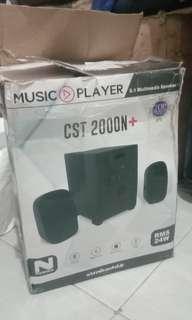 Music Player 2.1 Multimedia Speaker