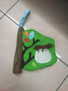 Skip Hop Treetop Friends - Solf baby activity book