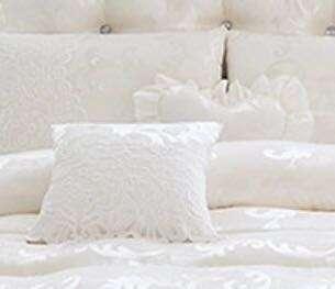 Bridal square pillow or heart shape pillow