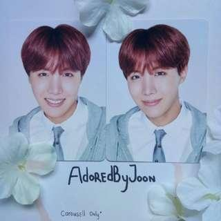 BTS JHOPE Happy Ever After Mini photocard Korea