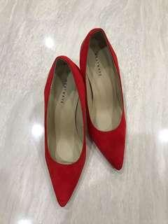 Red Shoes - 9cm Heels