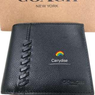 🚚 (INSTOCK)Authentic COACH F21371 3-In-1 Wallet With Baseball Stitch