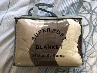 🚚 SUPERSOFT BLANKET FROM KOREA (Super Single)