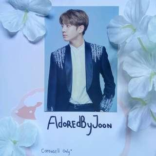 BTS Jungkook Wings Tour Final mini photocard