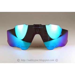 🚚 Oakley Jawbreaker Replacement Lens Kit sapphire iridium 101-352-002 sunglass shades