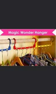 Space saving wardrobe/Magic Wonder Hangers