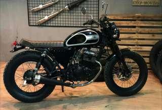motor klasik vintage