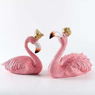 🚚 Flamingo cake topper / ornaments / statues