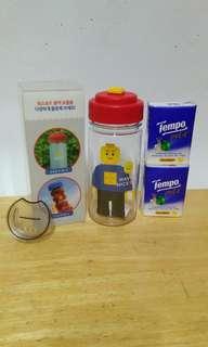 Lego 水樽 x 2