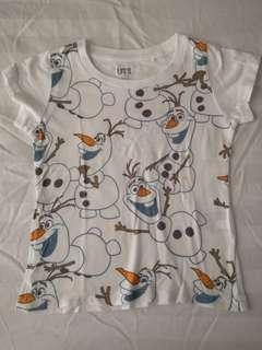 UNIQLO Olaf shirt
