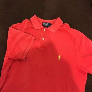 Polo Ralph lauren polo衫 短袖 m號 vintage
