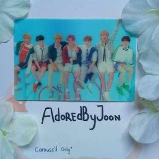 BTS Love Yourself 結 'Answer' Special Photocard
