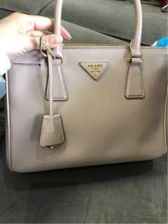 Authentic Preloved Prada Saffiano Lux Bag