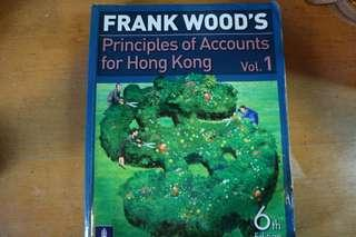 Principles of Accounts for Hong Kong 6th edition