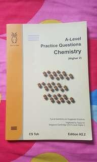 A-level H2 Practice Questions Chemistry