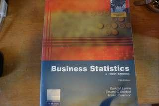 Business Statistics A First Course 5th Edition