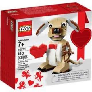 🚚 LEGO Valentine's Cupid Dog 40201
