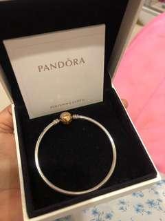 Pandora RoseGold Bangle